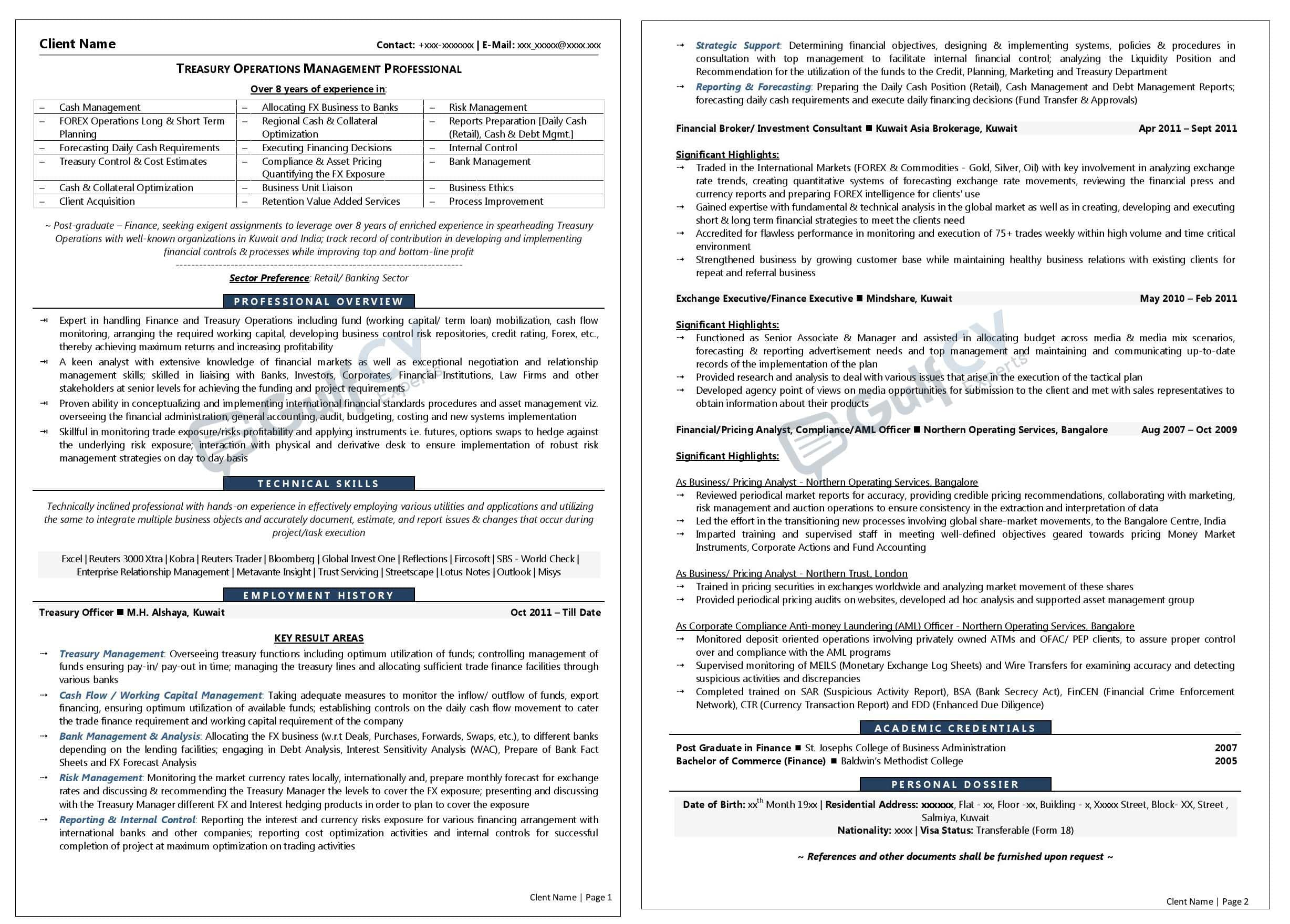 middle management resume samples--gulfcvexperts.com